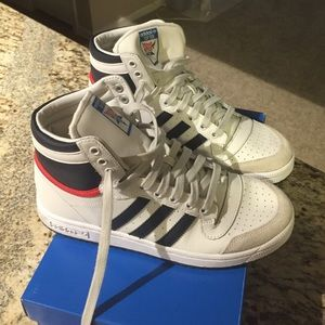 Adidas Shoes - Adidas top ten high tops