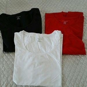 Lands End 3 pack shirts sz M