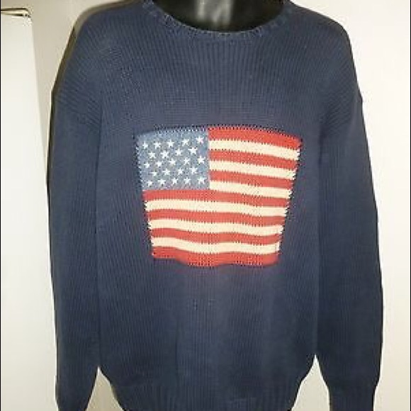 Polo Flag Ralph Country Vintage Lauren Sweater dQeWorCxB