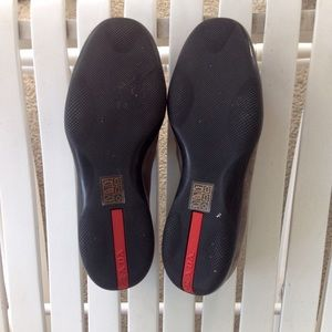 Prada Shoes - 🚫SOLD Prada Women's Dark Gray Suede Loafer Shoes
