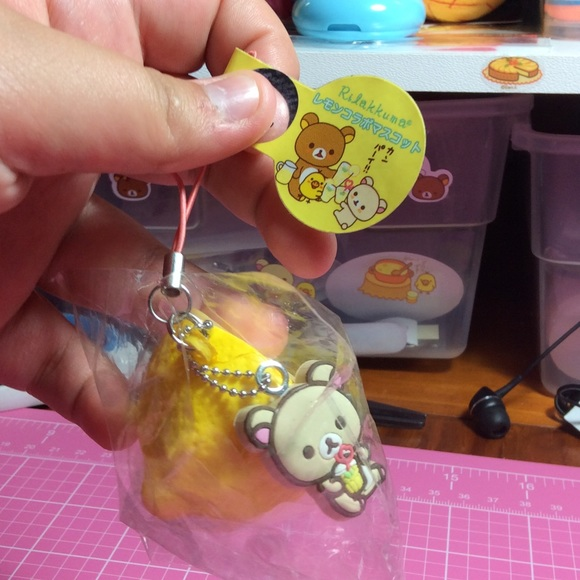 Squishy Tag 2015 : 43% off Other - Authentic Rilakkuma tagged lemon squishy from Hallee s closet on Poshmark