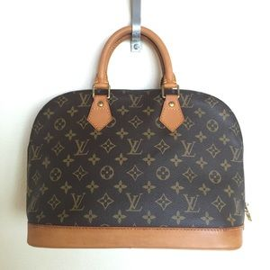 Vintage LOUIS VUITTON Monogram Alma PM