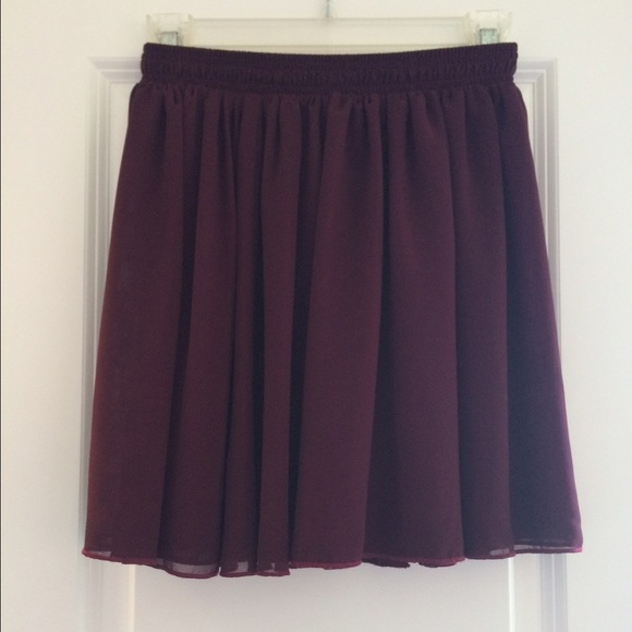 27 american apparel dresses skirts maroon high
