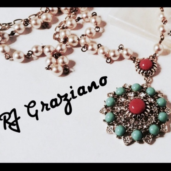 full hibiscus necklace item eternal pendant pmj lane ruby love graziano