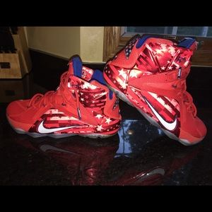 Lebron 12 Independence Day