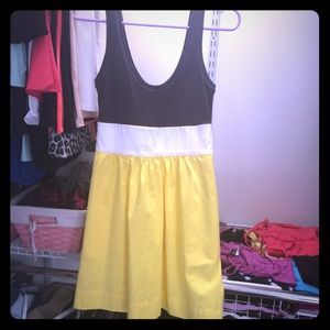 Express color block dress