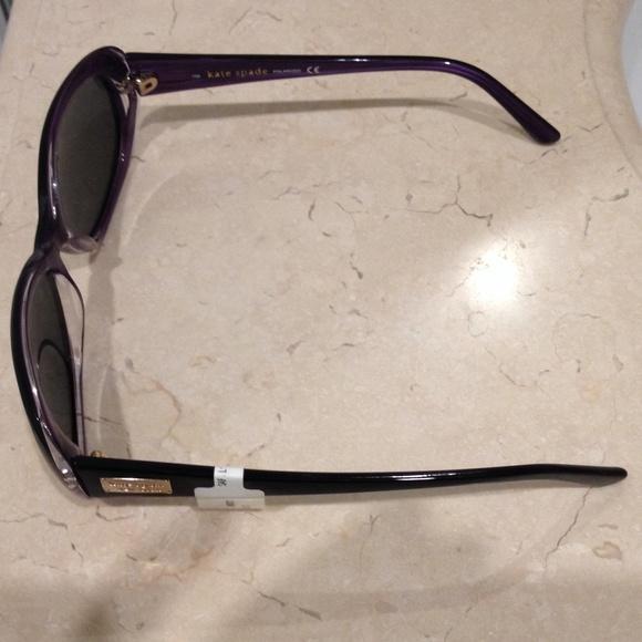 d3bfb430ca NWT Kate Spade black sunglasses