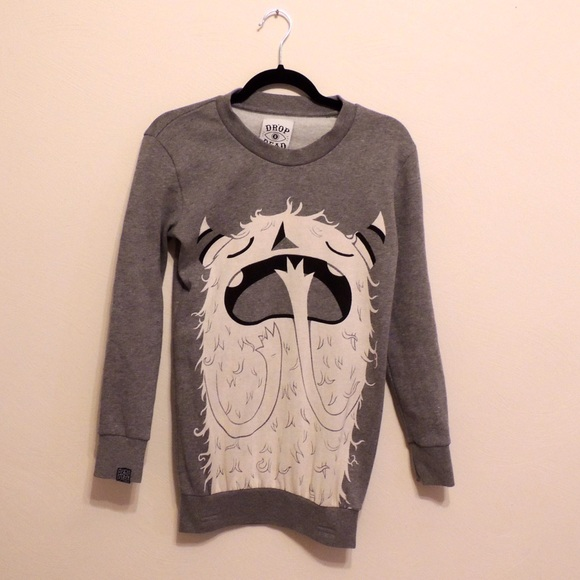 5c022fe35a760 Drop Dead Sweaters - Drop Dead Monster Sweater