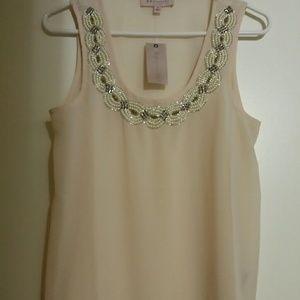 NWT Beaded Top - Philosophy by Republic Clothing