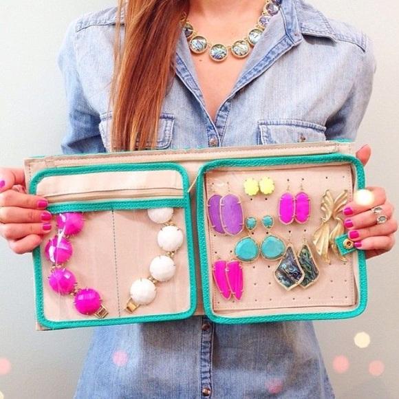 Kendra Scott Accessories Zip Away Small Jewelry Organizer Poshmark