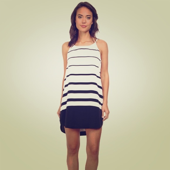 BB Dakota Striped Dress