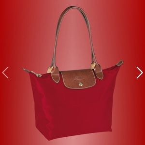 Longchamp Le Pliage Small Tote in Rouge (Red)