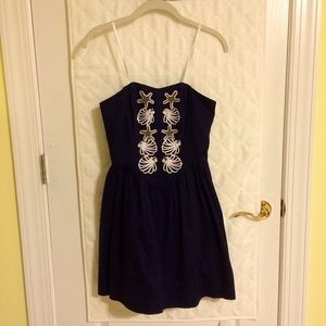 Lilly Pulitzer Mayfield Dress in Navy