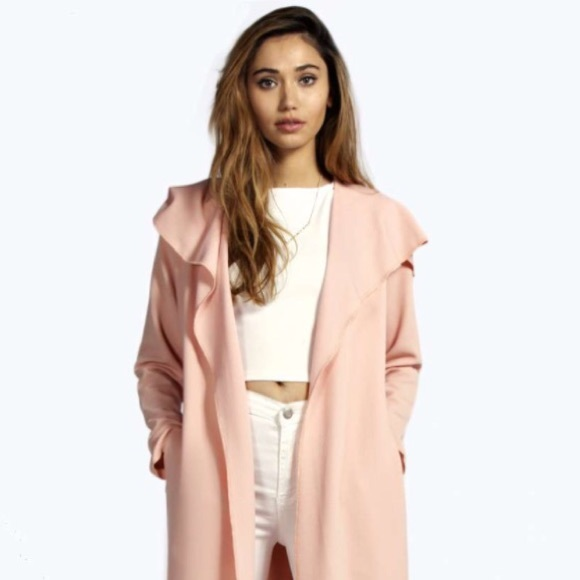 Kim Kardashian style pale pink belted jacket One size from C's