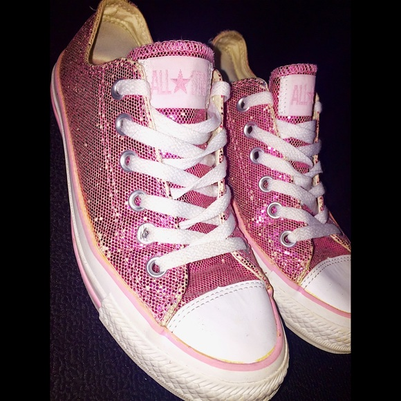 ... order adorable pink sparkly converse acdb2 4d4c6 ... bfd65f45e