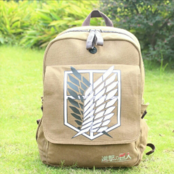 really sweet attack on titan bookbag os from kelsi s