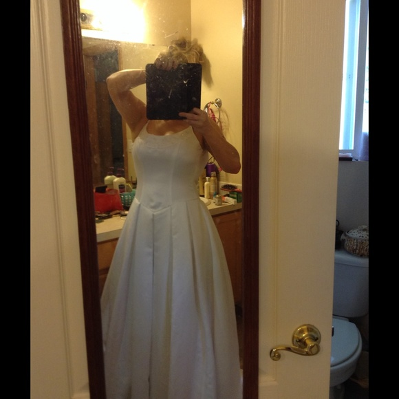 davids bridal Dresses | Donating In One Wk Wedding Dress | Poshmark