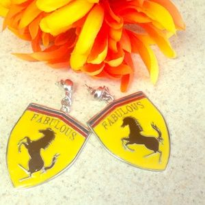 Jewelry - FABULOUS Horse Swag Earrings