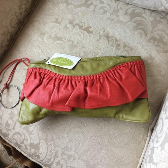 1a23ddca54eac 🎈🎉🎁Lauren Henry leather bag