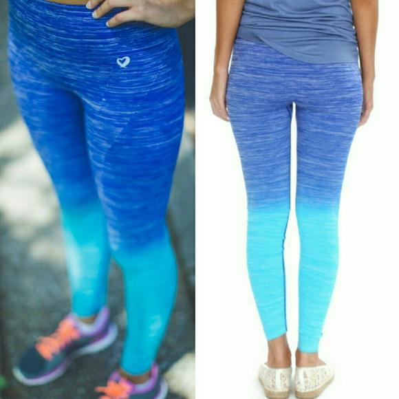 be39820f408985 lululemon athletica Pants | Ombre Leggings Blue | Poshmark