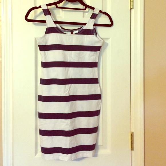 h m Tight Stripe Dress