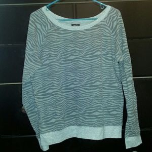 Grey scoop neck sweater