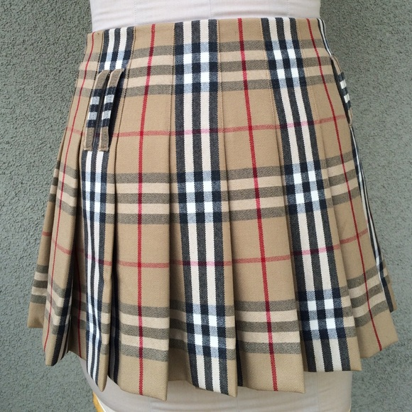 Burberry - Burberry plaid pleated skirt from Jarod's closet on ...