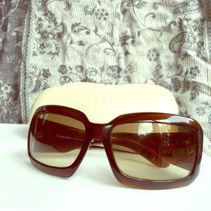 CHANEL Mother of Pearl Sunglasses