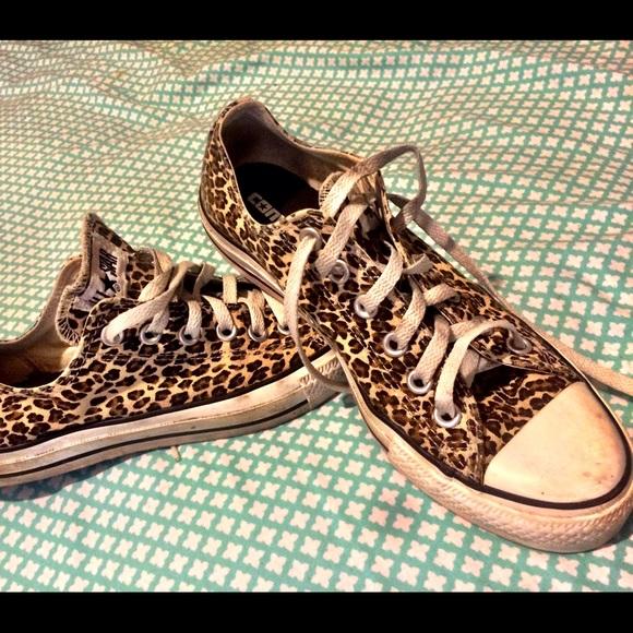 Leopard Print Converse Chuck Taylor
