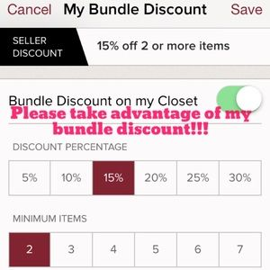 Other - Take advantage of my Bundle Discount!!!