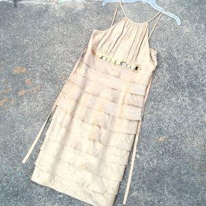 Dresses & Skirts - STUNNING champagne cocktail dress