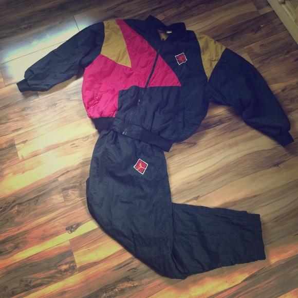8556c57be33 Jordan Jackets & Coats | Retro Nike Jogger Old School Mens Large ...