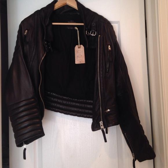 114c7513efb2f All saints Stein Biker leather jacket. never worn!