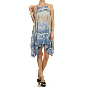 Drapped in Dye Dress