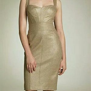 Reserve!!!DVF Gold Pointe Jiwon Dress