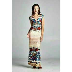 Freely Floral Maxi