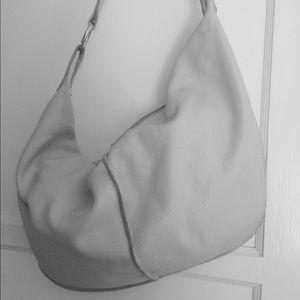 Christopher Kon white leather shoulder bag co-lab!