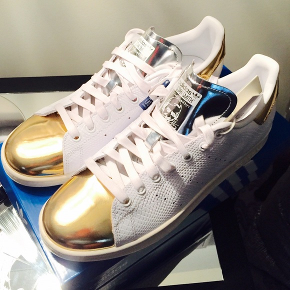 Stan Smith Adidas Metallic Gold