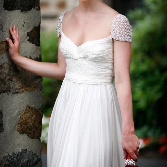 ab10adf7e5 Dresses   Skirts - CUSTOM MADE Reem Acra Olivia style Gown ivory ...