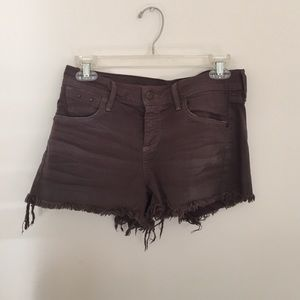 Citizens of Humanity Gray Denim Shorts