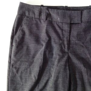 charcoal tweed slacks