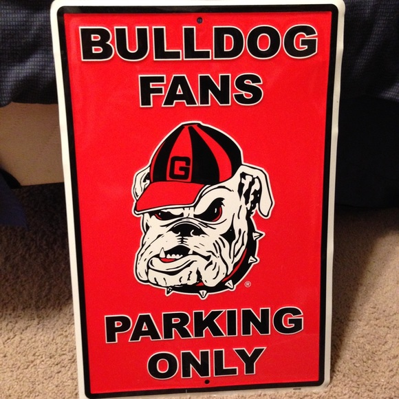 Uga Man Cave Signs : Off other georgia bulldogs man cave sign from