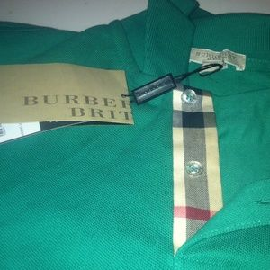 Authentic Burberry Brit Polo