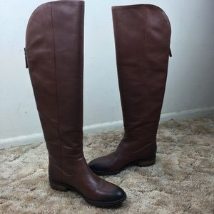Sole Society Shoes - Leather Riding Boot