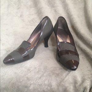 Armani heeled loafers