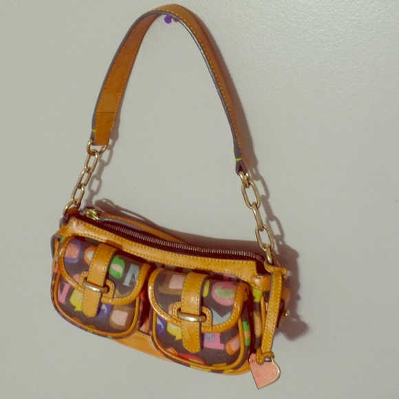 Dooney Amp Bourke Bags Dooney Bourke Rainbow Zip Purse