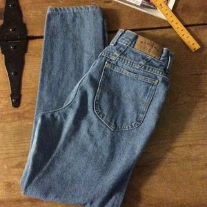 Lee high waisted tapered leg jeans