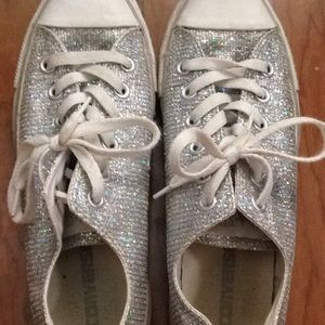 Cute Sparkly Converse All-Star size 9