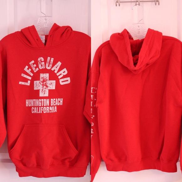 262532e58ef Jackets   Blazers - Huntington Beach Lifeguard Sweatshirt