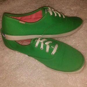 49cff7599d2 keds Shoes - 🐸KEDS CHAMPION CANVAS BRIGHT GREEN SHOE🐍